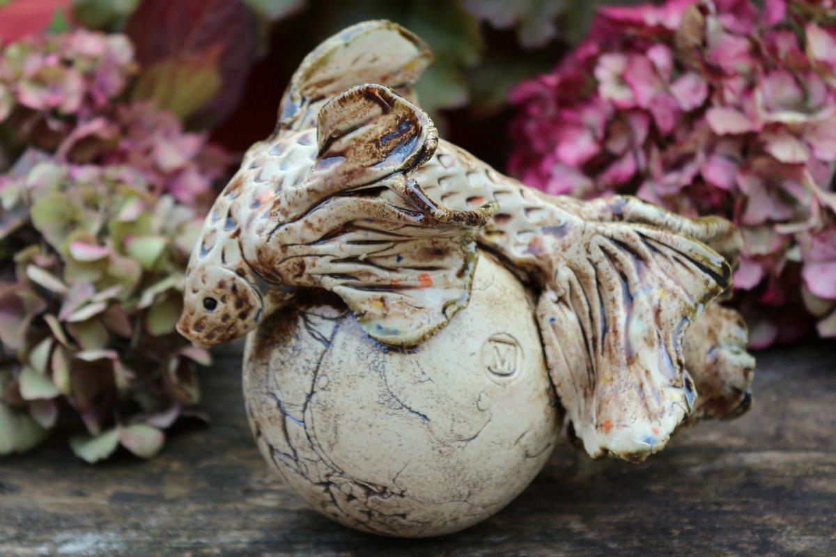 Keramik Fisch, Gartenkeramik, Gartendeko – Handarbeit / Unikat
