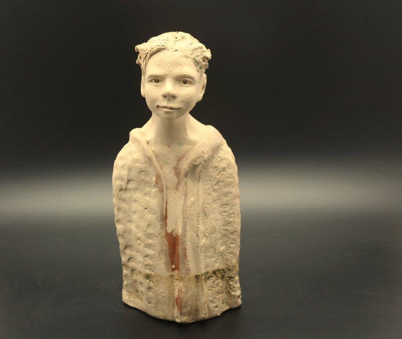 Verkauft – Keramik Skulptur, Plastik, Figur modern, Unikat