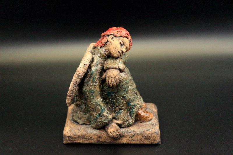 Verkauft – Keramik Engel