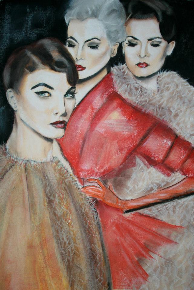 Bild: Pastellzeichnung (2012)