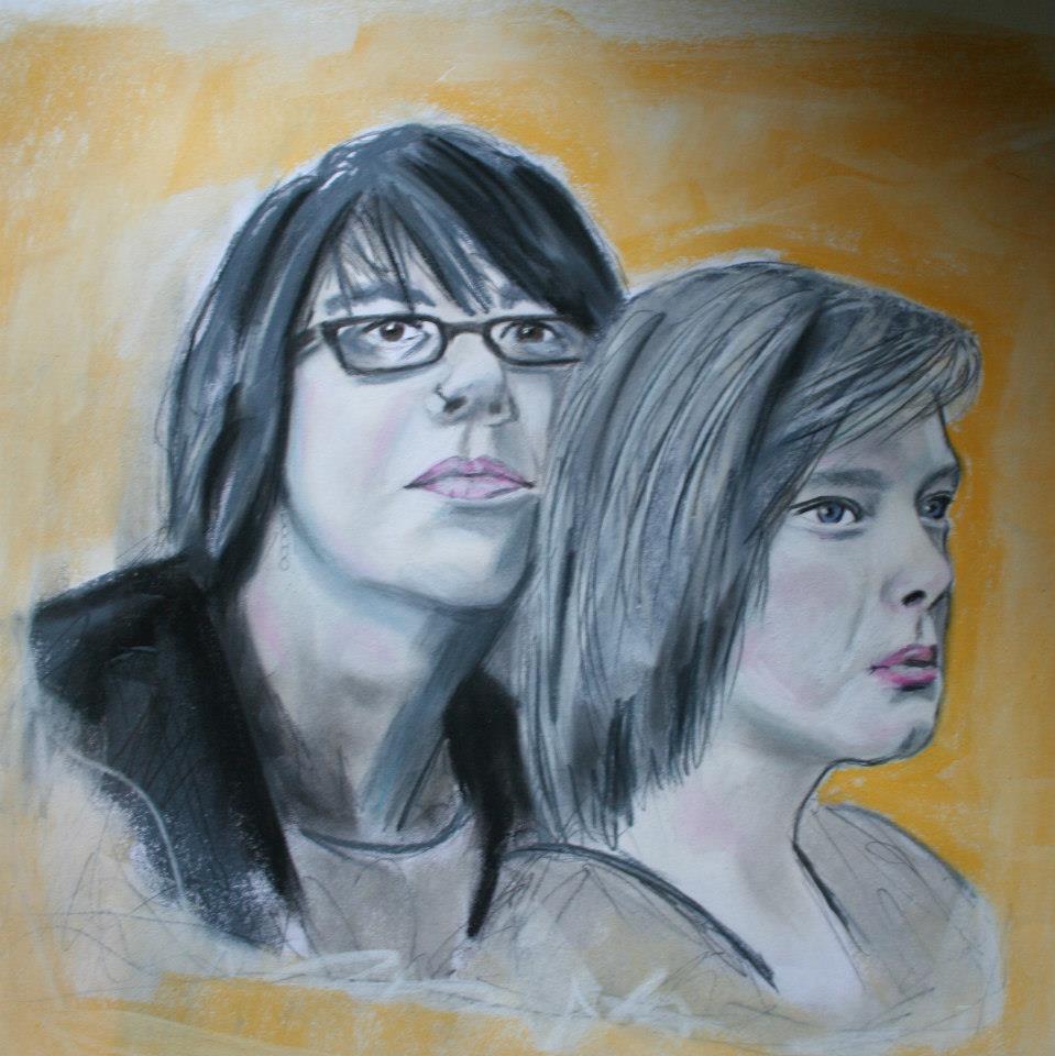 Bild: Porträt Julia und Annalena (2012)